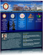 Prince George's County Economic Development Corp. website